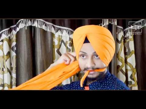 SEMI PATIALA SHAHI Turban Tutorial   Sukhvir Singh   HD 2016