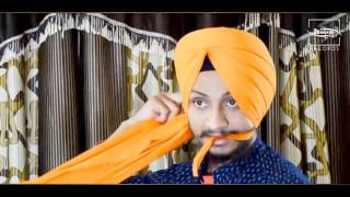 SEMI PATIALA SHAHI Turban Tutorial | Sukhvir Singh | HD 2016