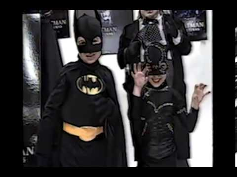 Morris Costumes Brings Batman Costume to the Market Clip 2 ( 1992 News Channel 3 ) - YouTube & Morris Costumes Brings Batman Costume to the Market Clip 2 ( 1992 ...