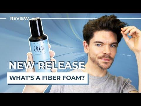 American Crew Fiber Grooming Foam | Honest Review | Men's Hair Product