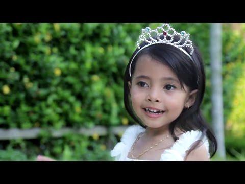 Kasih ibu kepada beta cover by little princess shinta umur 4 tahun