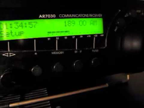LW DX: Rikisutvarpid Iceland 189 kHz received in Germany on AOR AR7030
