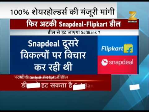 SoftBank warns Snapdeal on its merger with Flipkart