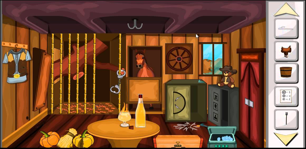 Escape Game Cowboy House Game Level 5 Walkthrough Youtube