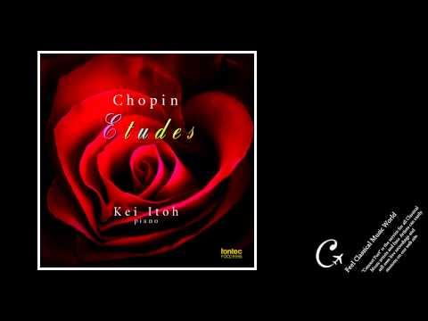 Kei Itoh plays Chopin:12 Études Op.10