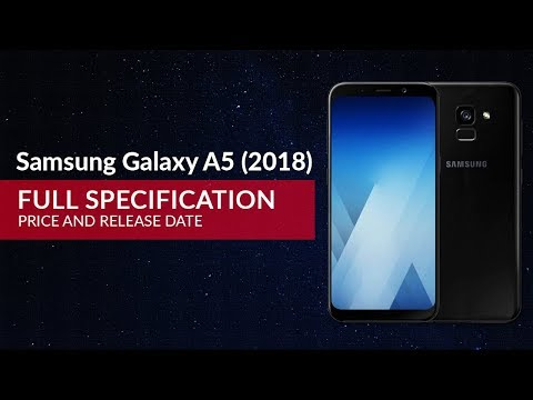 This is Samsung Galaxy A5 (2018) First Look, Phone Specifications, Price, Release Date, Features thi.