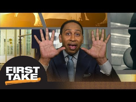 Stephen A. Smith goes off on David Carr for Ben Roethlisberger criticism | First Take | ESPN