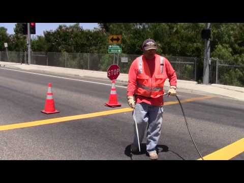 Legend Striping | San Diego County Department of Public Works - Working For You