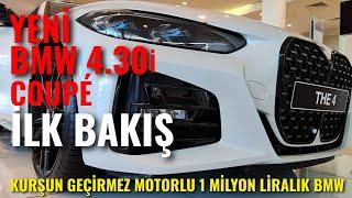 Yeni BMW 4 serisi Türkiye'de - BMW 4.30i Coupe 2020 ilk inceleme