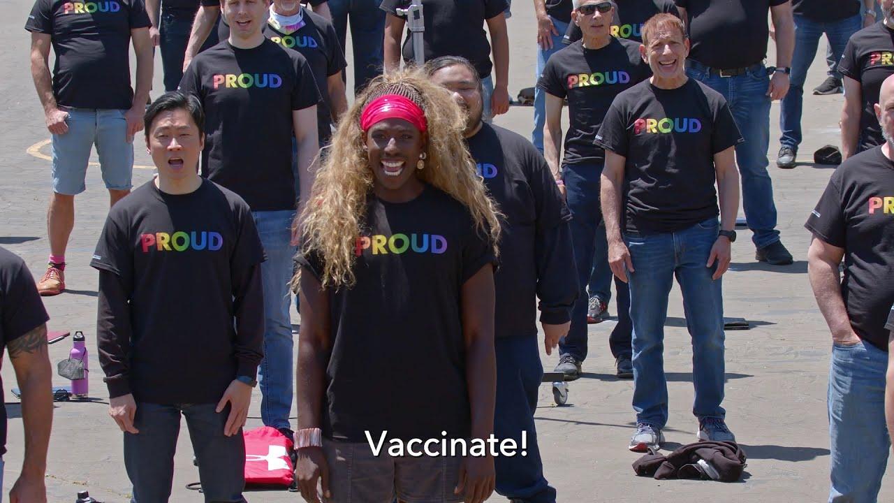 "Vaccinate!"" (Harvey Milk Day performance 5/22/2021) - YouTube"