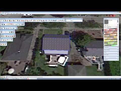 Sketchup Solar Design - Model A House & Design Solar Array