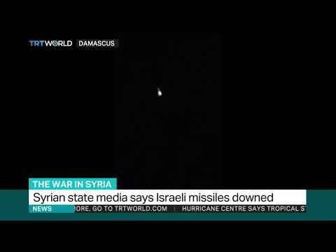 Syrian Regime Shoots Down Israeli Missiles