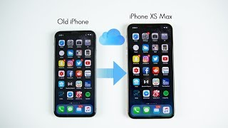 How to Backup Old iPhone & Restore to iPhone XS/XS Max (Setup Process)