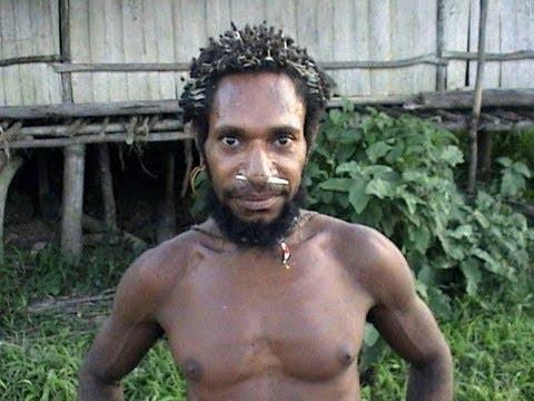 Korowai tribe in Papua, Indonesia | New Guinea, Papua ...  |Real Cannibal Tribes