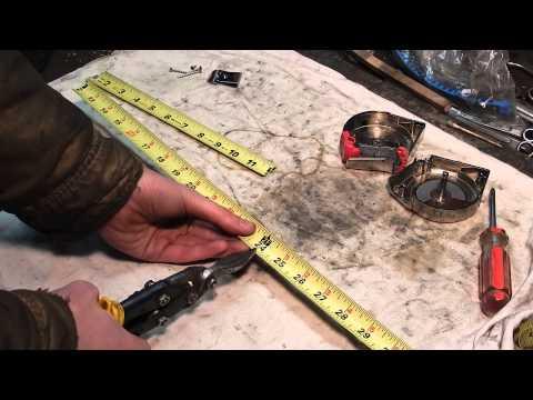 home shop tips no 22 using a broken tape measure youtube. Black Bedroom Furniture Sets. Home Design Ideas