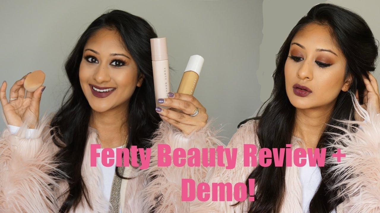 Fenty Beauty Foundation Review + Demo | Makeup By Megha