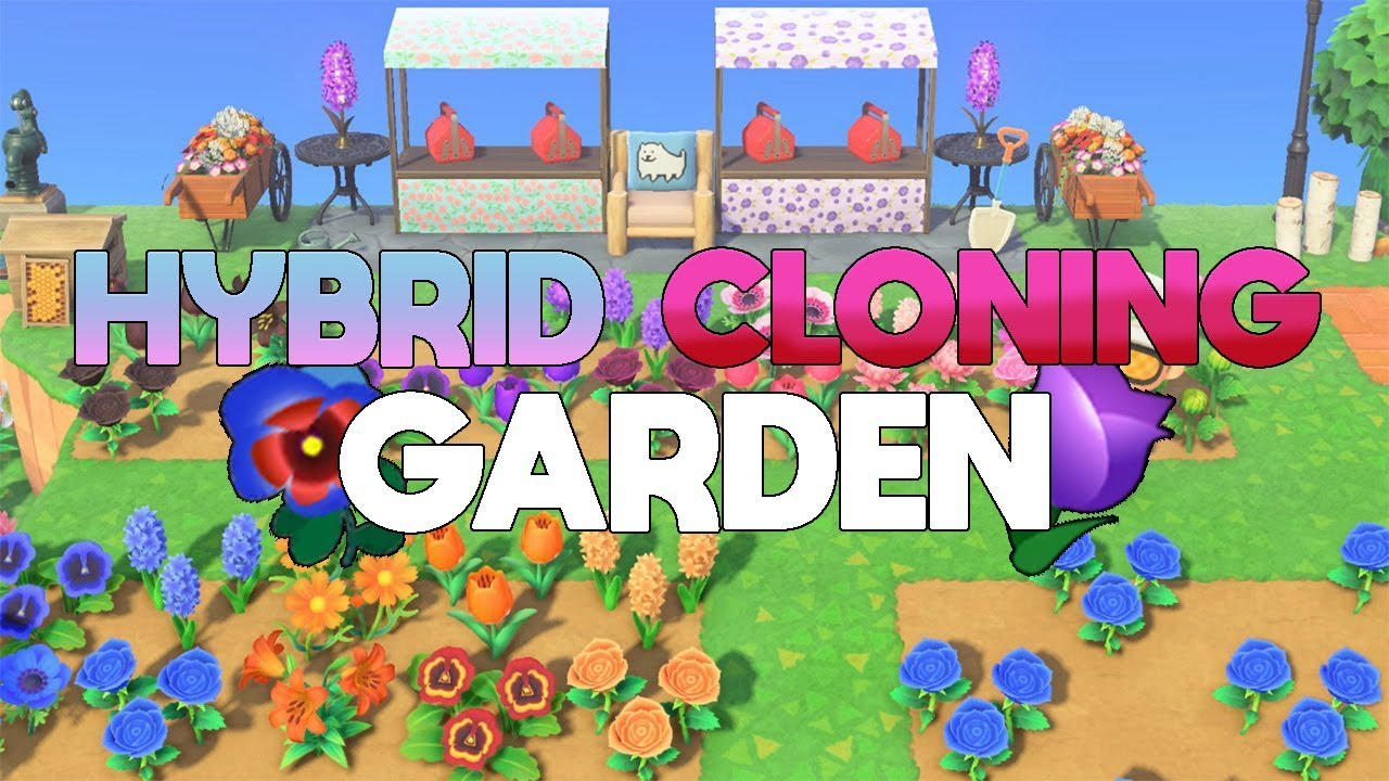 How To Build A Hybrid Cloning Flower Garden Timelapse Animal