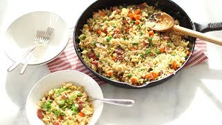 Fried Rice with Chinese Sausage- Everyday Food with Sarah Carey