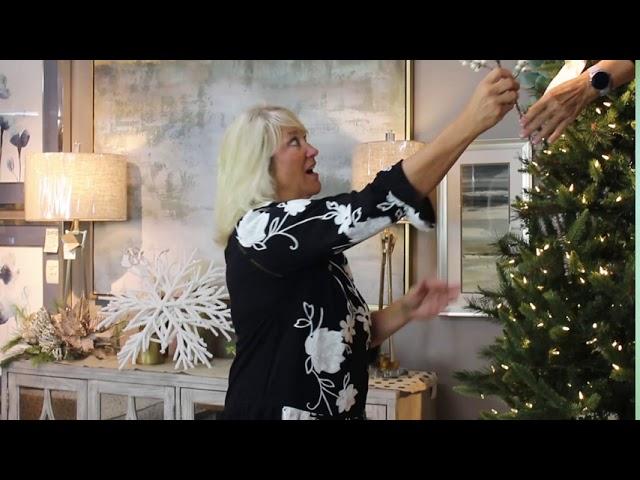 Sacksteder's Interiors | DIY Winter Elegance Tree Package