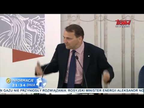 Kogo wspiera Radosław Sikorski?