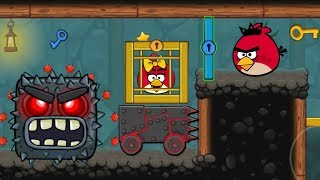 Angry Birds Animated Ep. 7 | Red Ball 4 - Into The Caves (ORIGINAL 2019)