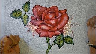 Roberto Ferreira – Finalização – Rosas acadêmicas especial para o dia das Mães