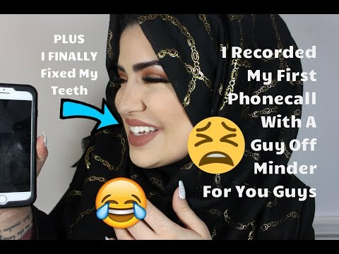 My Weekly VLOG - 5 - I Recorded a Phone Convo with a guy off Minder PLUS I FIXED MY TEETH!