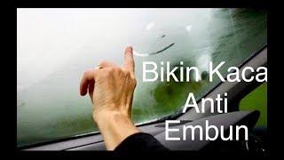 3 Cara Agar Kaca Mobil Anti Embun Saat Hujan