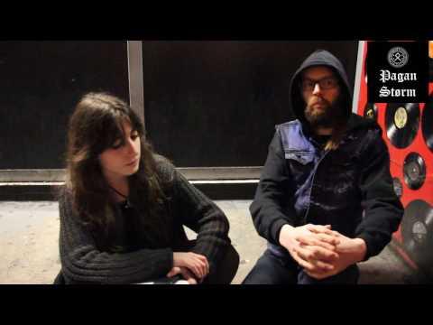 Pagan Storm interviews Sólstafir @ Innsbruck, 22/11/2014