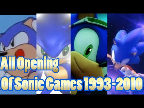 All Openings Of Sonics Games 19932010