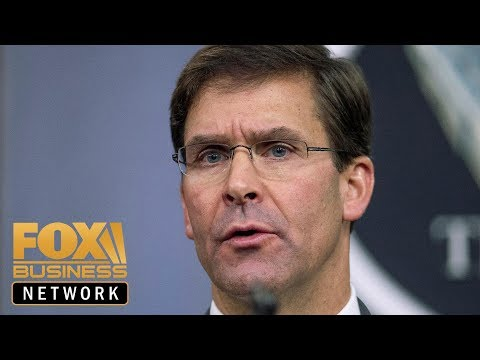 Mark Esper: China's technology theft continues to pose a risk