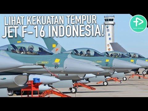 5 Fakta Jet F-16 Terbaru Paling Mematikan Milik Indonesia