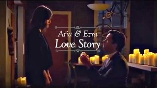 Aria & Ezra | Love Story (The Proposal - Baby Just Say Yes) [7x05]