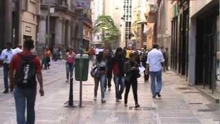 Centre-ville de São Paulo - Brésil