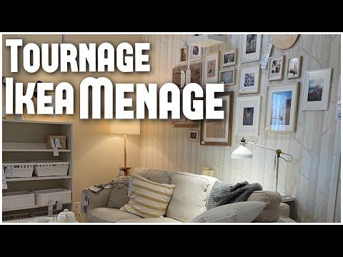 Tournage, Ikea, ménage... | VLOG