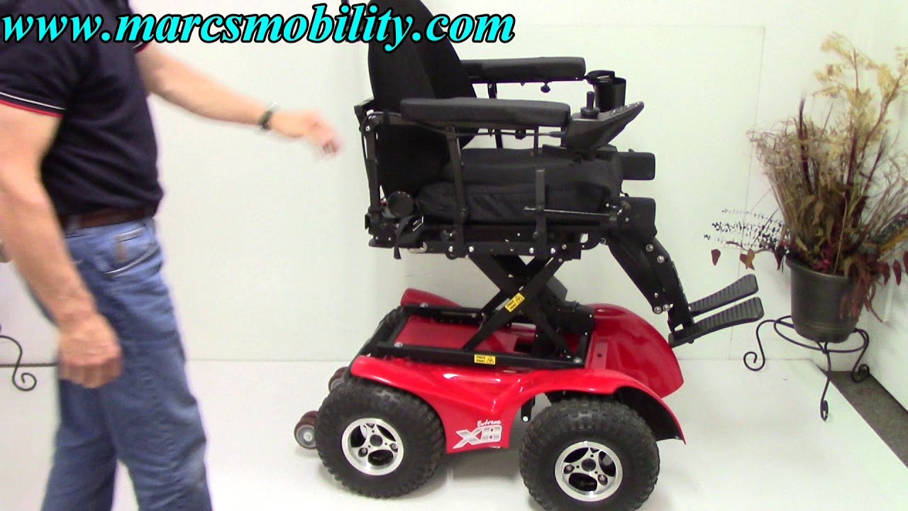 X8 Wheelchair Flash Furniture Office Chair Magic Mobility Extreme Power Youtube
