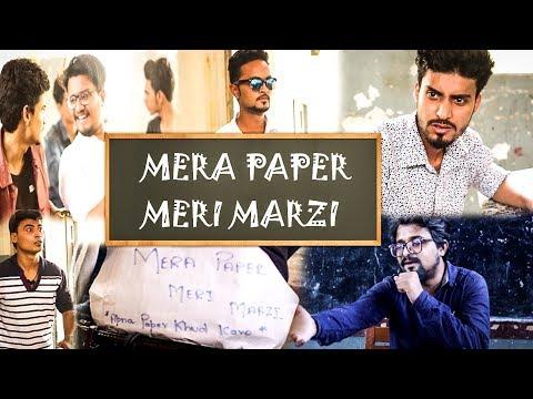 Mera Paper Meri Marzi   Funny Examination Scene   Bee Kay Production  