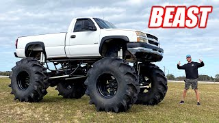 I Bought a GIGANTIC Mud Truck and It FREAKING RIPS!!!