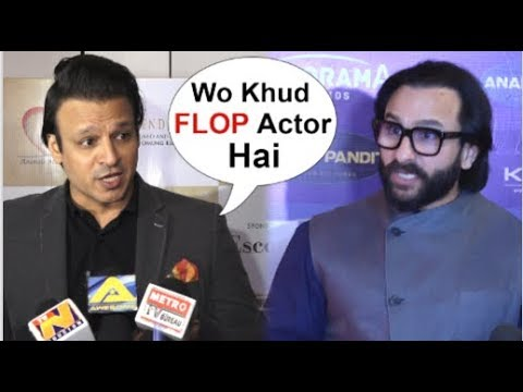 Vivek Oberoi Takes A DIG At Saif Ali Khan For Making FUN Of Him At Koffee With Karan
