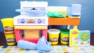 Play-Doh Meal Makin' Kitchen Play Doh Food!