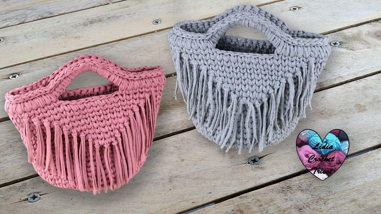 Sacs Franges Tendance Trapixl Crochet