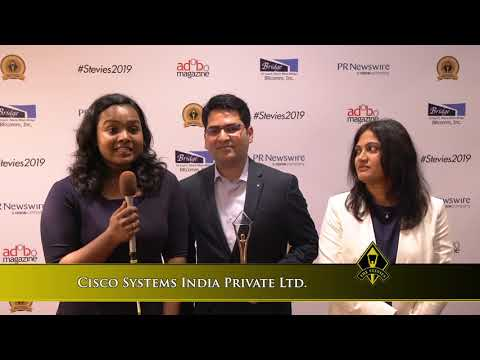 Cisco Systems India Private Ltd. Wins In The 2019 Asia-Pacific Stevie® Awards
