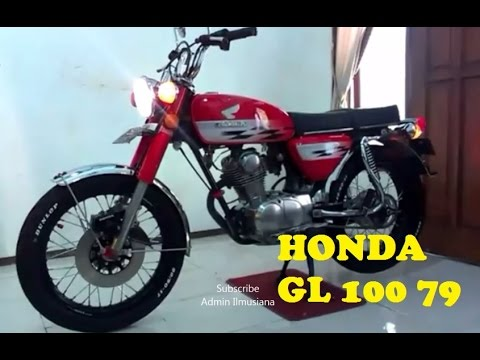 Kinclong Abis Motor Honda Gl 100 79 Youtube