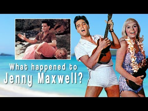 What happened to JENNY MAXWELL? ( Elvis' costar in Blue Hawaii )