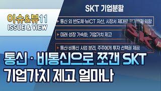 [이슈추적] 통신·비통신으로 쪼갠 SKT… 기업가치 제…