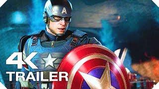 Мстители Marvel (Marvel's Avengers) — «День Мстителей»   РУССКИЙ ТРЕЙЛЕР #1 (4K, 2019)   E3 Game
