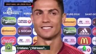 لحظات طريفة مع كريستيانو رونالدو بعد الإنجاز التاريخي للبرتغال