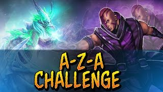 �������� ���� Dota 2 - A-Z-A Challenge - Anti-Mage & Winter Wyvern ������