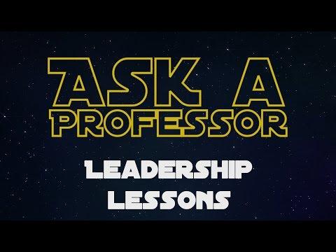 Georgetown on Star Wars: Leadership Lessons