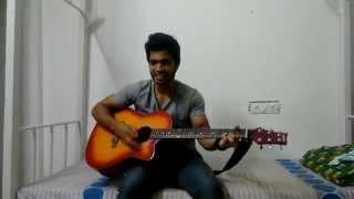 Mental Manadhil guitar cover